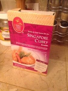 Singapore Curry in a box (Prima Taste)