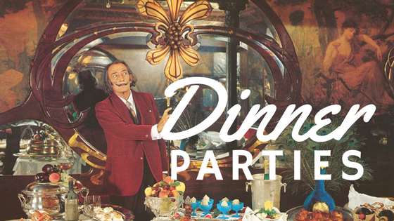 Hosting the Perfect Surrealist Dinner Party - Salvador Dalí